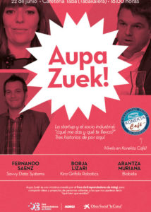 Cartel Aupa Zuek